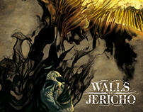 Walls of Jericho - CD Cover Art