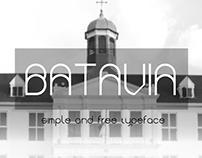 Batavia - Free Font