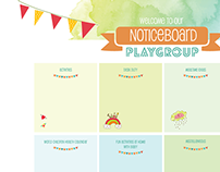 Environmental Graphics-British Commission Playgroup