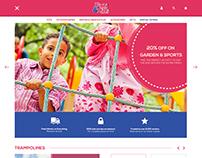 Fun&Kids: Magento2 Concept Design