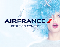 Air France - App redesign concept