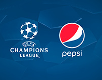 Mueble exhibidor - PEPSI / Uefa Champions League
