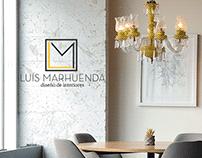Logo para Luis Marhuenda Interiorismo