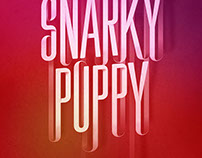 Concertposter for Snarky Puppy