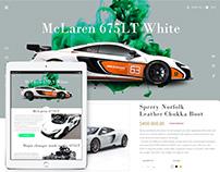 McLaren 675LT Web Concept