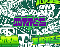 Rise of the TMNT — Logo/Lettering