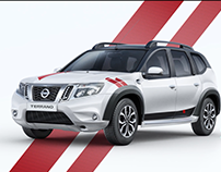 Nissan Terrano - Earn Your Stripes