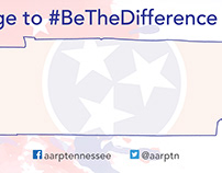 AARP voting registration banner