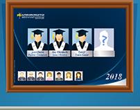 Gif foto graduados