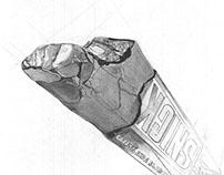 Axonometric Chocolate Drawing