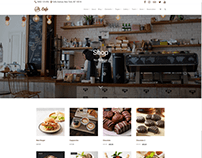 Shop - Wide - Cafe WordPress Theme