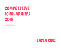 MICA Competitive Scholarships 2018