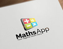 Maths App | Logo template