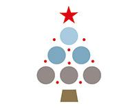 Grains de résine campagne Noël