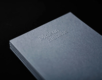 Maison Blanche branding & editorial design