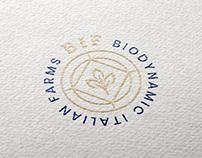 Biodynamic Italian Farms - Logo Design Entry