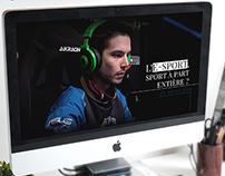 Webdesign - Site E-Sport