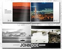24 Pages Photography Portfolio Album