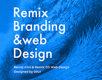 Remix branding&web design