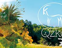 Tri-fold brochure | Agritourism farm Qzko