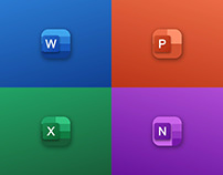 Microsoft Office 365 - Icons Redesign