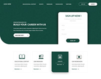 web design for education site #modern web design