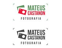 [MATEUS CASTANON FOTOGRAFIA] Criação de logotipo