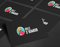 Bulle d'Humour Logo