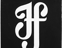 'If' Linoprint