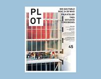 PLOT #45 - Editorial Design