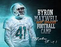 Byron Maxwell NFL 2017 Camp Flyer