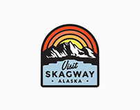 Skagway, Alaska Tourism Department Logo