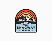Skagway, Alaska Tourism Department Logo