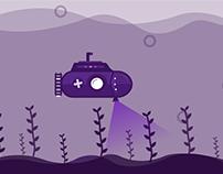 Submarine /Motion Graphic