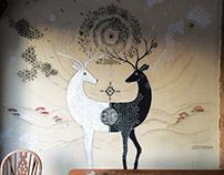 Viva Tapas Bar Mural