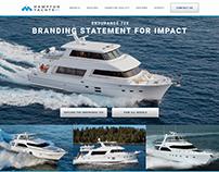 Hampton Yachts and Hampton Yacht Group Websites