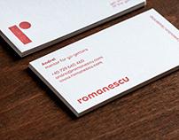 Romanescu brand identity