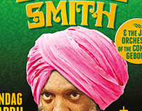 Poster A0 for Dr. Lonnie Smith at Patronaat, Haarlem