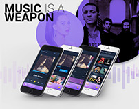 Music is a Weapon - Music Beta App