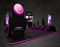 LG Display Booth
