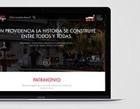 Website Patrimonio Providencia - Wilmai !