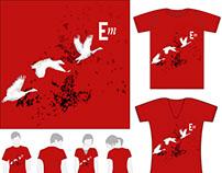 Illustration pour un concours de T-shirts