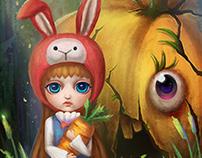 Rabbit @ Mr. Pumpkin
