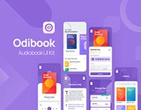 Odibook - Audiobook UI Kit