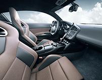 Audi R8 Interior CGI