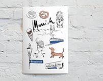 MUNICH // illustrated poster
