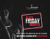 Metz Photolab - Black Friday Promo Artwork