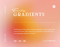 Funky Gradient Textures