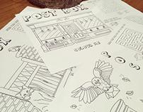 Postbox Café Activity Sheets