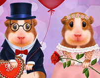 Mr and Mrs Guinea Pig
